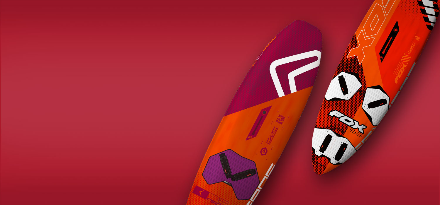 New Severne Fox and Nano windsurfing boards